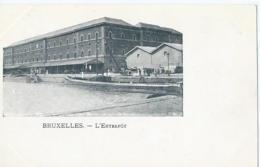 Brussel - Bruxelles - L'Entrepôt - Monumenten, Gebouwen