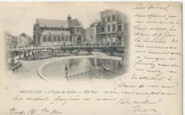Brussel - Bruxelles - 57 - L'Eglise Du Sablon - ND Phot. - 1900 - Monumenten, Gebouwen