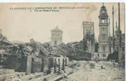 Brussel - Bruxelles - Le Sinistre De L'Exposition De Bruxelles AOUT 1910 - 3 - Vue Du Palais D'Irlande - Wereldtentoonstellingen