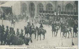 Brussel - Bruxelles - Visite De LL. MM. Impériales L'Empereur Et L'Imperatrice D'Allemagne Aux Souverains Belges - Feesten En Evenementen