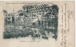 Brussel - Bruxelles - Joyeuse Entrée De LL. AA. RR. Le Prince Et La Princesse Albert De Belgique - Arrivée A La Gare Du - Feesten En Evenementen