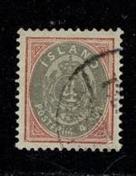 Island 1900-02 Yv 21 (2 Scans) - Oblitérés