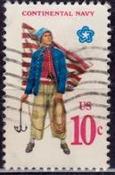 United States, 1975, Continental Navy Uniform, 10c, Sc#1566, Used - United States