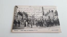 *'STEKENE Zicht Langs De Dorpstraat N°10 Belle Animation  Oblitérée En 1904 - Stekene