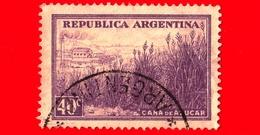 ARGENTINA - Usato - 1935 - Produzione Canna Da Zucchero - 40 - Argentine