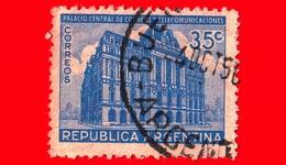 ARGENTINA - Usato - 1945 - Palazzo Delle Poste - 35 - Argentine