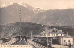Brig  Bahnhof Zug - VS Valais