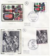 1983 - FRANCIA 2 FDC OPERE D' ARTE VEDI++++ - FDC