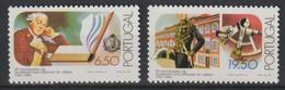 M 1061) Portugal 1980 Mi# 1510-1511 **: Akademie Der Wissenschaften, Sextant - Astronomie