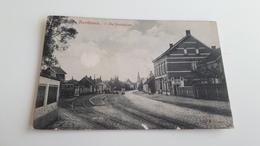 *'SANTHOVEN  De Statieplein Trains (état Voir Scan)  Oblitérée En 1908 - Zandhoven