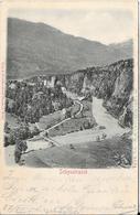 Schynstrasse (carte Gauffrée) - Suisse