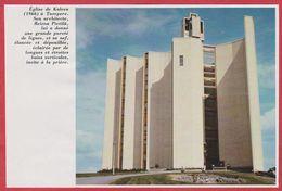 Eglise De Kaleva à Tampere. Finlande. Encyclopédie De 1970. - Vieux Papiers