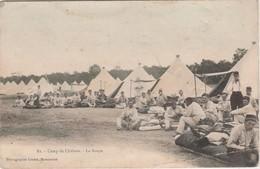 CPA Camp De Châlons 71 / La Soupe - 1914-18
