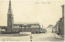 CUERNE - Kiosk En Kerk - N° 16193 Uitg. Depoortere - Kuurne
