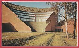 Ecole Polytechnique à Otaniemi. Architecte Alvar Aalto. Finlande. Encyclopédie De 1970. - Vieux Papiers