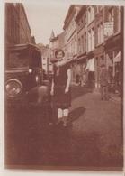 Foto Photo (6,5 X 8,5 Cm) Oldtimer Old-timer Huy ? Dinant ? Liège ? Namur ? Spa ? Verviers ? Rochefort ? Marche ? - Hoei