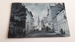 *' PUERS -Hoogstraat Bleutée Animée  Oblitérée En 1907 - Puurs