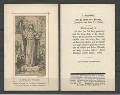 Holy Card.   .Rosa De Viterbio - Religion & Esotérisme