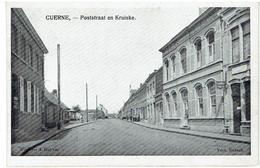CUERNE - Poststraat En Kruiske - Kuurne