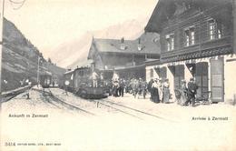 Zermatt Bahnhof Eisenbahn - VS Valais