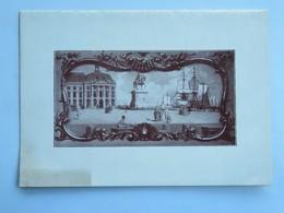Menu :  Chambre De Commerce De BORDEAUX, Dîner à L'occasion De L'Inauguration De La Foire De Bordeaux, Le 14 Juin 1931 - Menus