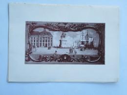 Menu : Chambre De Commerce De BORDEAUX, Dîner à L'occasion De L'Inauguration De La Foire De Bordeaux, Le 12 Juin 1932 - Menus