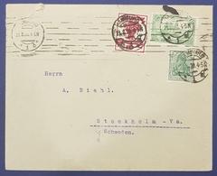 1920 Covers, F.A.Helm & Co, Hamburg - Stockholm Schweden, Deutsches Reich, Germany, Allemagne Deutschland - Allemagne
