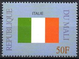 MALI 1999 - 1v - MNH** - Flag Of Italy Italie Italia Flags Drapeaux Fahnen Bandiere Banderas флаги - Timbres