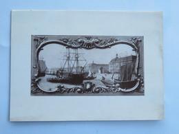 Menu : Chambre De Commerce De BORDEAUX, Dîner à L'occasion De L'Inauguration De La Foire De Bordeaux, Le 14 Juin 1936 - Menus