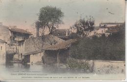 JONZAC - 2 Cartes - Anciennes Constructions En Bois & Couvent Des Carmes   PRIX FIXE - Jonzac