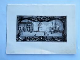 Menu : Chambre De Commerce De BORDEAUX, Dîner à L'occasion De L'Inauguration De La Foire De Bordeaux, Le 11 Juin 1939 - Menus