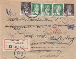 Turkey R Cover 1939 - 1934-39 Sandschak Alexandrette & Hatay