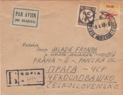 Bulgary R Cover 1948 - 1909-45 Königreich