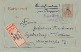 Deutsches Reich Luftpost R Kartenbrief 1920 - Deutschland