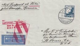 Deutsches Reich Luftpost Brief 1936 - Deutschland