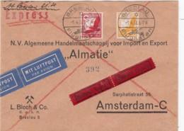 Deutsches Reich Luftpost Brief 1938 - Deutschland