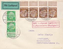 Deutsches Reich Luftpost Brief 1934 - Deutschland
