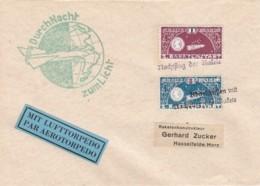Deutsches Reich Luftpost Brief 1933 Mit Lufttorpedo - Deutschland