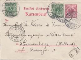 Deutsches Reich Kartenbrief 1899 - Deutschland
