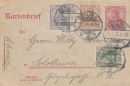 Deutsches Reich Kartenbrief 1905 - Deutschland