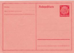 Deutsches Reich Rohrpostkarte 1934 RP25 - Deutschland