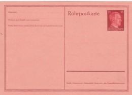 Deutsches Reich Rohrpostkarte 1941 RP26 - Deutschland
