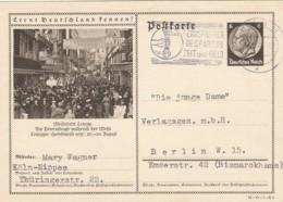 Deutsches Reich Postkarte 1935 P236 Leipziger Messe - Deutschland