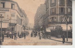 PARIS - Rue Des Couronnes Au Boulevard De Belleville   PRIX FIXE - Arrondissement: 20