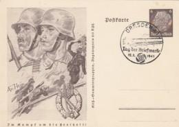 Deutsches Reich Postkarte 1941 P242/01 - Deutschland