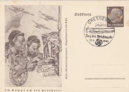 Deutsches Reich Postkarte 1941 P242/07 - Deutschland