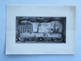 Menu : Chambre De Commerce De BORDEAUX, Dîner Offert Aux Présidents Des Chambres De Belgique, Le 7 Février 1936 - Menus