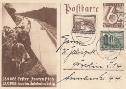 Deutsches Reich Postkarte 1936 P263 - Deutschland