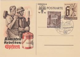 Deutsches Reich Postkarte 1941 P291A - Deutschland