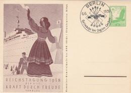 Deutsches Reich Postkarte 1938 P246 - Deutschland